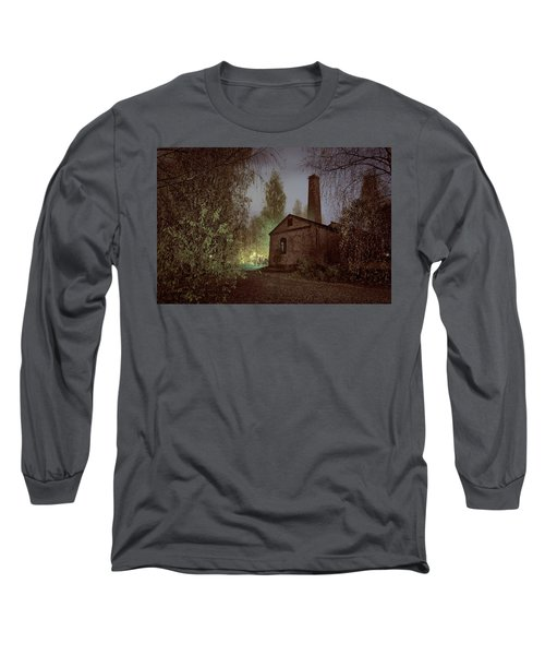Old Factory Ruins Long Sleeve T-Shirt