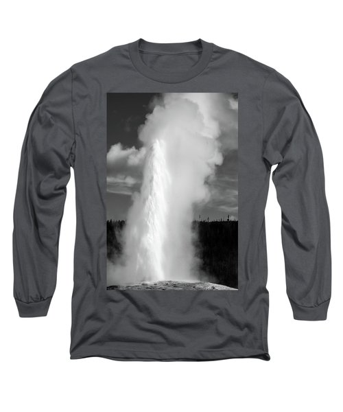 Long Sleeve T-Shirt featuring the photograph Old Faithful by Colleen Coccia