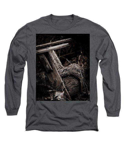Old Garden Chair. Long Sleeve T-Shirt