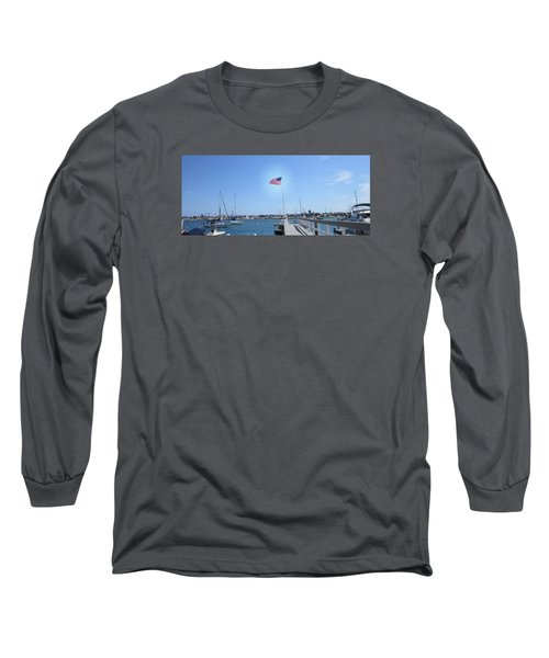 Old Glory 2 Long Sleeve T-Shirt by Dan Twyman