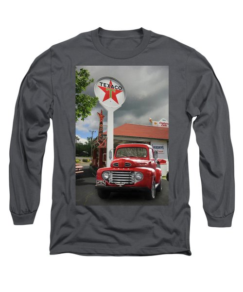 Long Sleeve T-Shirt featuring the photograph Old Guys Rule by Lori Deiter