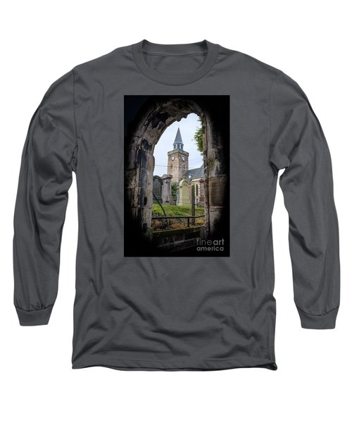 Old High St. Stephen's Church Long Sleeve T-Shirt by Amy Fearn