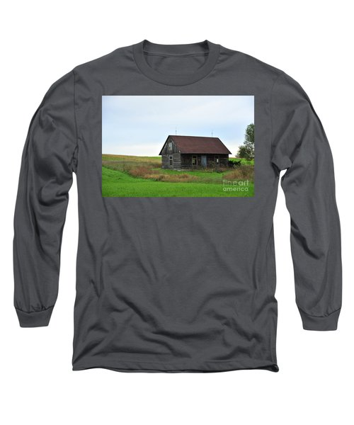 Old Log Cabin Long Sleeve T-Shirt