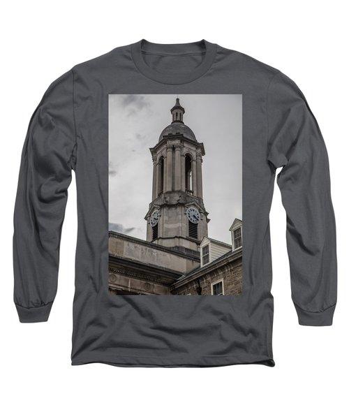 Old Main Penn State Clock  Long Sleeve T-Shirt