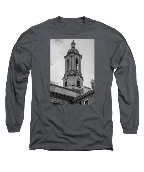 Old Main Tower Penn State Long Sleeve T-Shirt by John McGraw