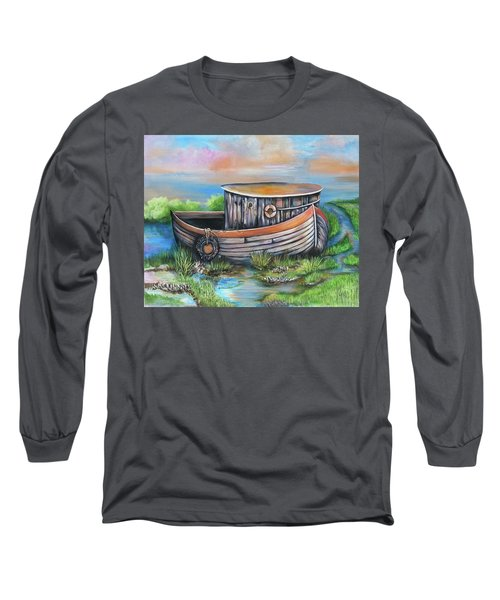 Old Mans Boat Long Sleeve T-Shirt