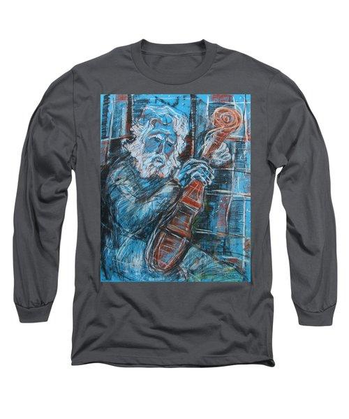 Old Man's Violin Long Sleeve T-Shirt