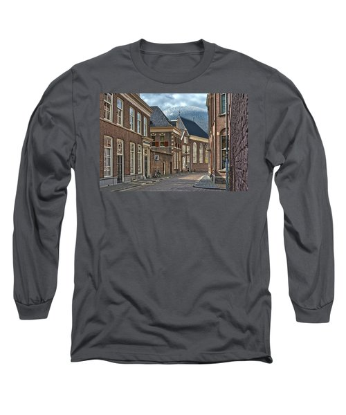 Old Meets New In Zwolle Long Sleeve T-Shirt