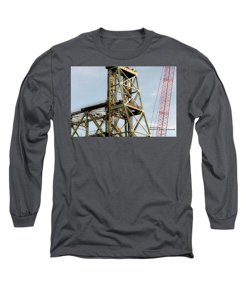 Old Memorial Bridge Long Sleeve T-Shirt