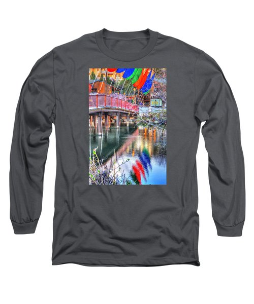 Old Mill Foot Bridge 481 Long Sleeve T-Shirt