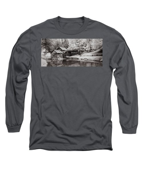 Old Mill On The Mountain Long Sleeve T-Shirt