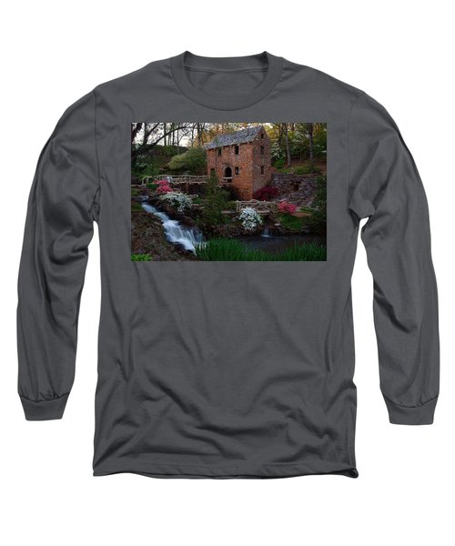 Old Mill Long Sleeve T-Shirt by Renee Hardison