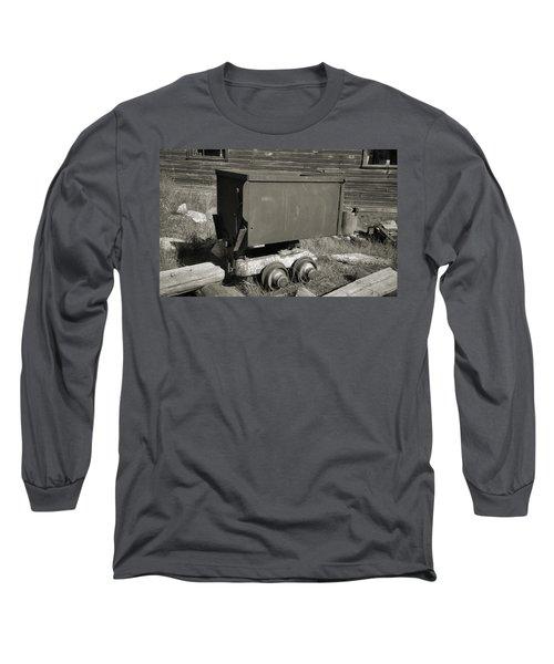 Old Mining Cart Long Sleeve T-Shirt