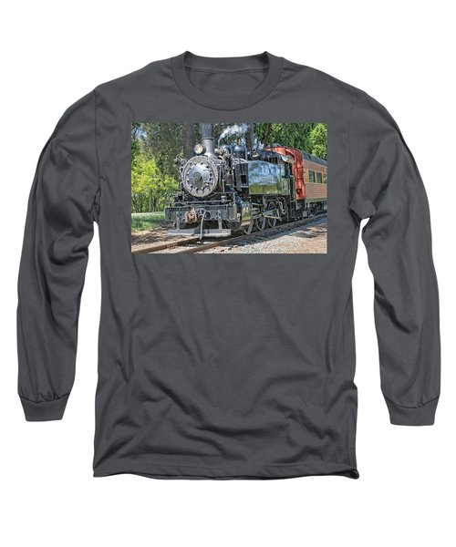 Old Number 10 Long Sleeve T-Shirt by Jim Thompson