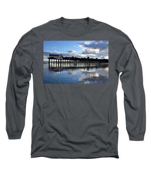 Old Orchard Beach Pier Long Sleeve T-Shirt