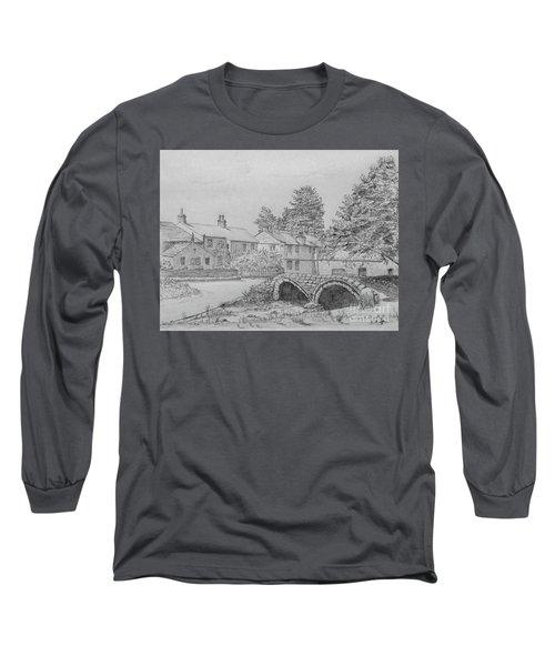 Old Packhorse Bridge Wycoller Long Sleeve T-Shirt