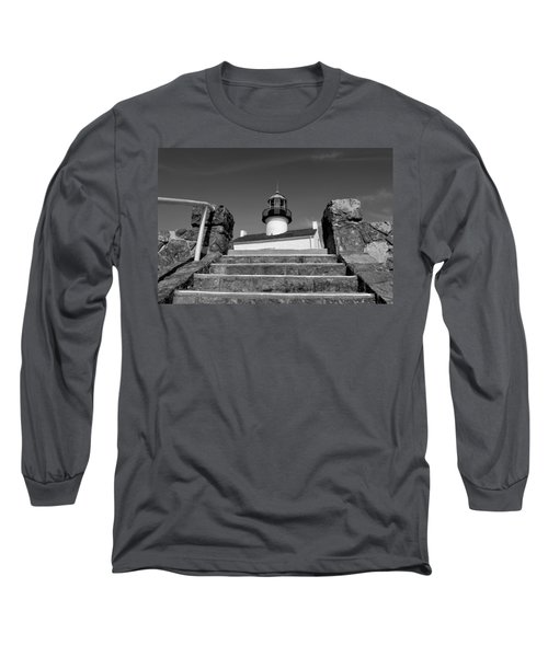 Old Point Loma Lighthouse - From The Stairwell  Long Sleeve T-Shirt