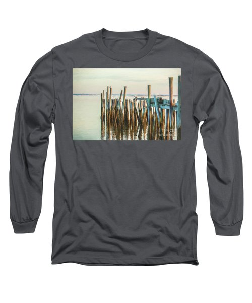 Old Provincetown Wharf Long Sleeve T-Shirt