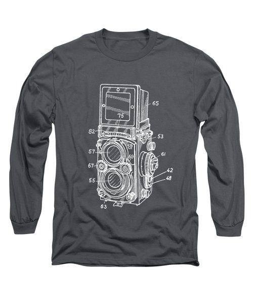 Old Rollie Vintage Camera White T-shirt Long Sleeve T-Shirt