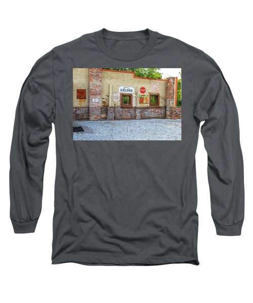 Old Saloon Wall Long Sleeve T-Shirt