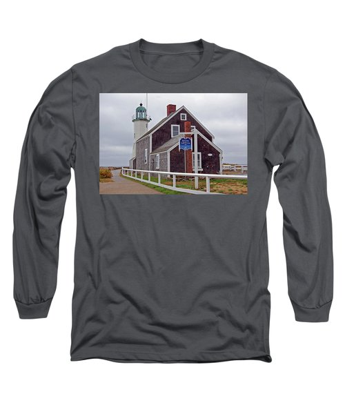 Old Scituate Lighthouse Long Sleeve T-Shirt