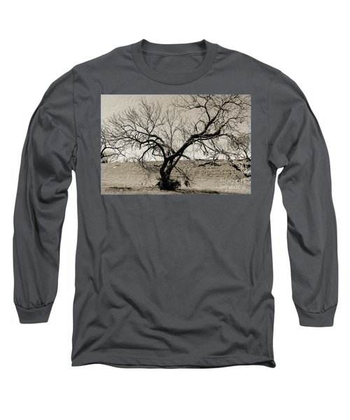 Old Texas Frontier  Long Sleeve T-Shirt