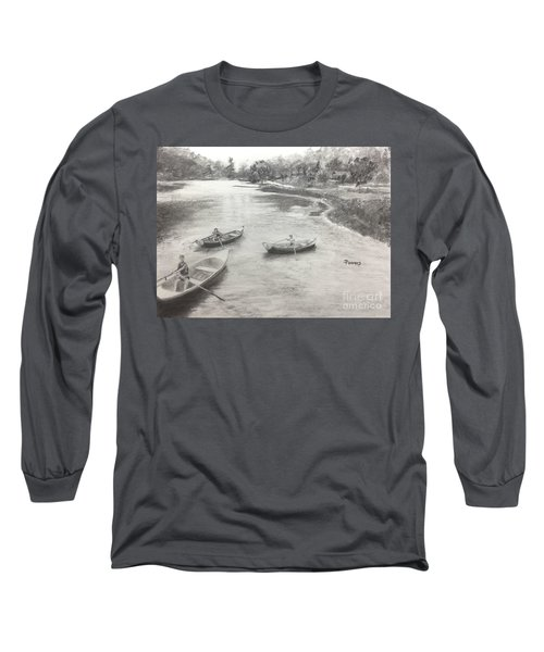 Old Time Camp Days Long Sleeve T-Shirt