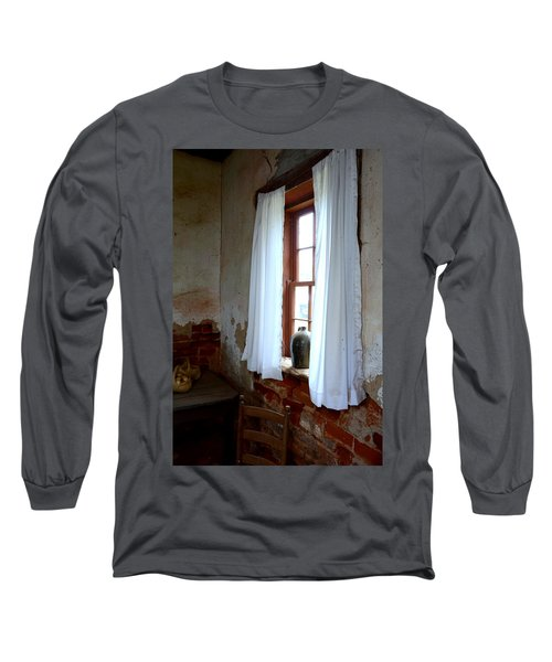 Old Time Window Long Sleeve T-Shirt