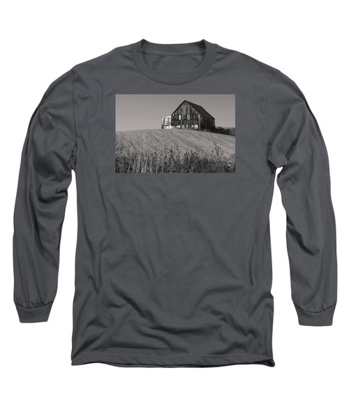 Old Tobacco Barn Long Sleeve T-Shirt