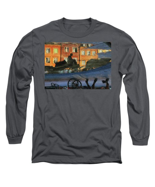 Old Town In Warsaw #12 Long Sleeve T-Shirt