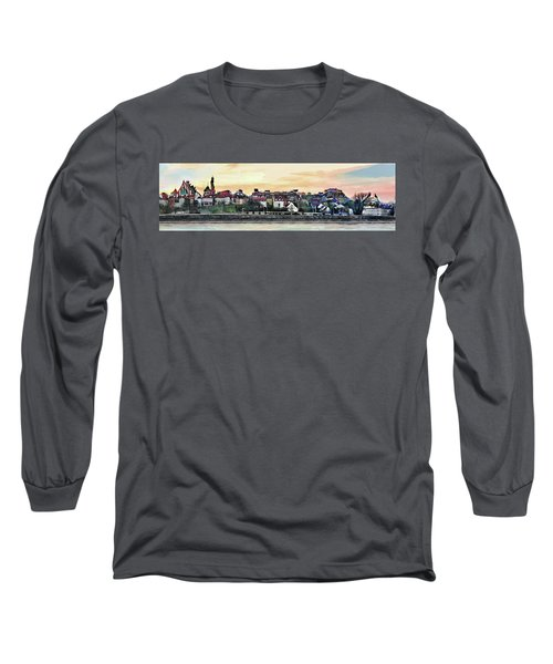 Old Town In Warsaw #16 Long Sleeve T-Shirt