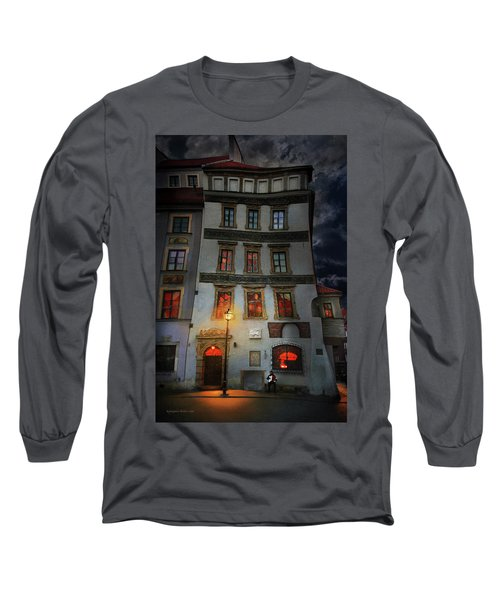 Old Town In Warsaw #17 Long Sleeve T-Shirt