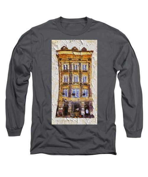 Old Town In Warsaw #21 Long Sleeve T-Shirt