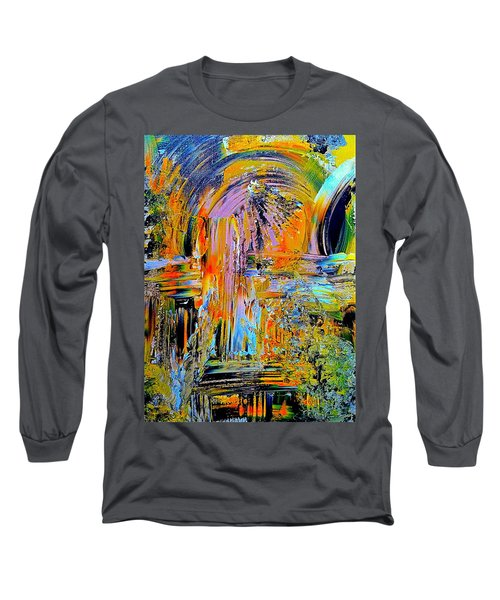 Old Town Of Nice 2 Of 3 Long Sleeve T-Shirt