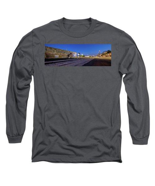 Old Wall Signage - San Antonio  Long Sleeve T-Shirt
