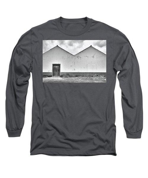 Old Warehouse Exterior Long Sleeve T-Shirt