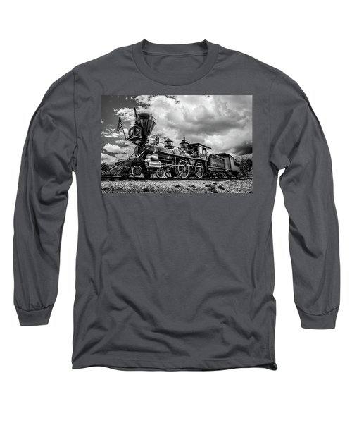 Old West Train Long Sleeve T-Shirt