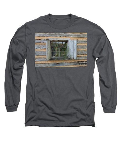 Old Window Long Sleeve T-Shirt