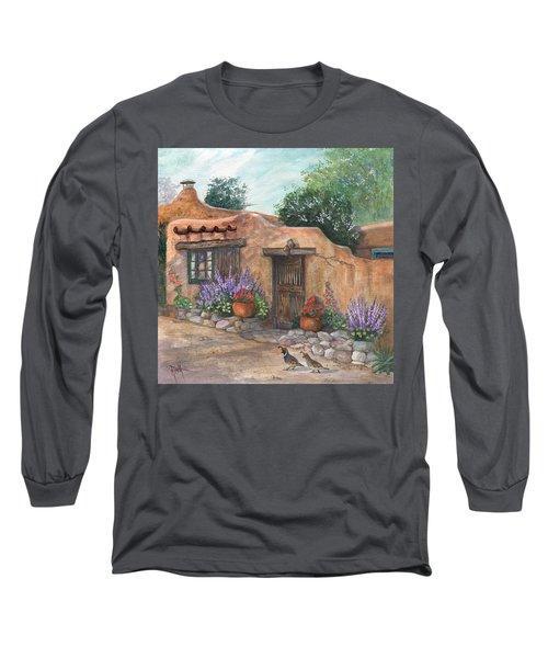 Old Adobe Cottage Long Sleeve T-Shirt