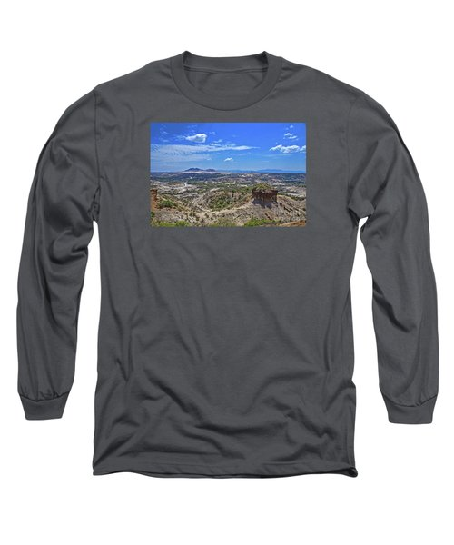 Long Sleeve T-Shirt featuring the photograph Olduvai Gorge - The Cradle Of Mankind by Pravine Chester