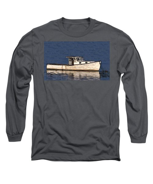 Ole Boy Painting Long Sleeve T-Shirt