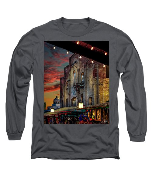 Olvera Street Market Long Sleeve T-Shirt