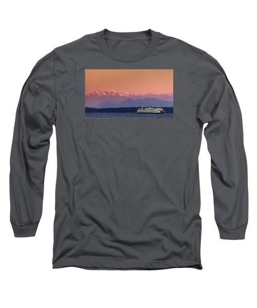 Long Sleeve T-Shirt featuring the photograph Olympic Journey by Dan Mihai