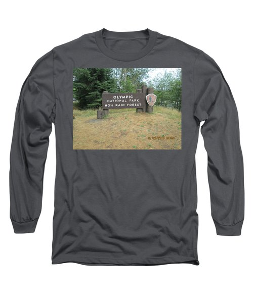 Olympic Park Sign Long Sleeve T-Shirt