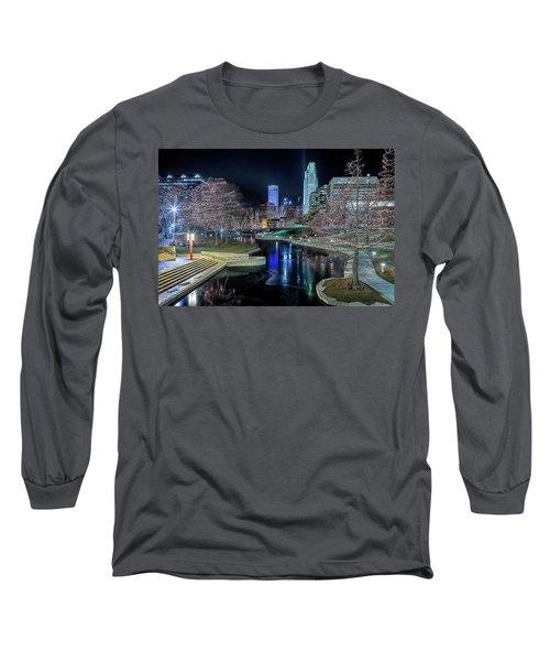Omaha Holiday Lights Festival Long Sleeve T-Shirt