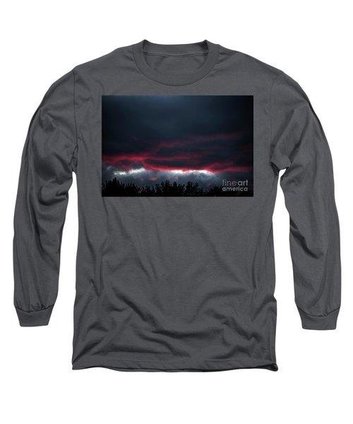 Ominous Autumn Sky Long Sleeve T-Shirt