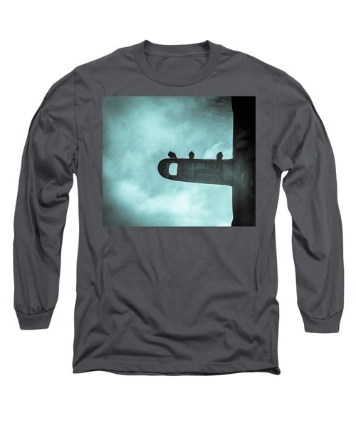 Ominously Seatlle  Long Sleeve T-Shirt