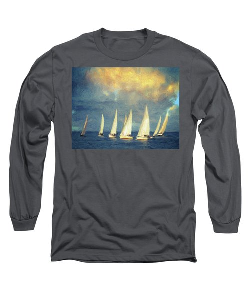On A Day Like Today  Long Sleeve T-Shirt by Taylan Apukovska
