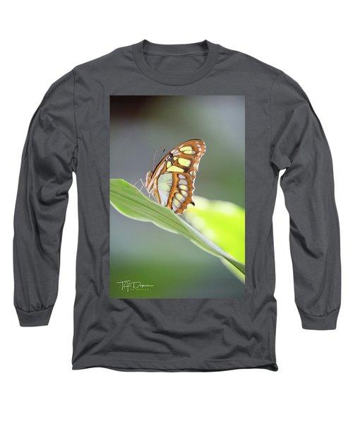 On A Leaf Long Sleeve T-Shirt