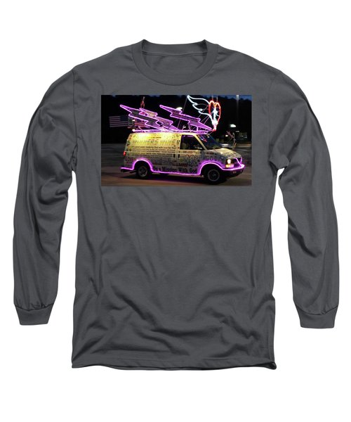 Long Sleeve T-Shirt featuring the photograph On A Mission With God by Suzanne Gaff